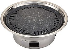 Round charcoal grill, portable stainless steel