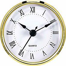 Round Clock Insert 3-1/8 Inch (80 mm) Quartz