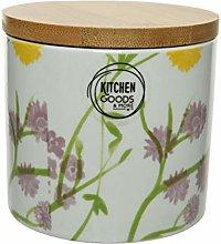 Round Coffee/Tea Caddy/Ceramic Kitchen Storage