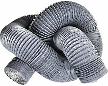 Round Ducting Aluminium Flexible Fan Ducting,