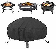 Round Fire Pit Cover,Outdoor Bowl Table