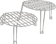 Round Frying Basket Dividing Shelves for Kuroma XL