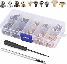 Round Head Solid Copper Nail Rivet Button Kit for