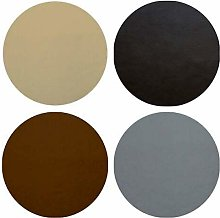 Round Heavy Duty Table Protector (Brown, Round 110
