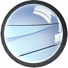 Round Knob Metal Cabinet Cupboard Drawer Door Pull