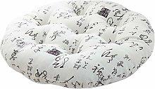 Round Meditation Chair Cushion - Round Pillow