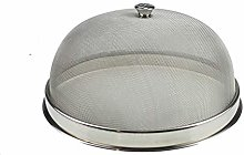 Round Metal Dome Food Cover Stainless Steel Mesh