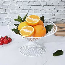 Round Metal Wire Fruit Vegetables Storage Kitchen