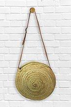 Round Moroccan Market Shopping Basket- Large -