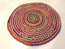 Round Multi Coloured Eco friendly Braided Natural