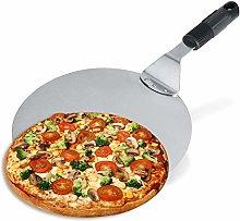 Round Pizza Peel Paddle Slicer Baking Tools,