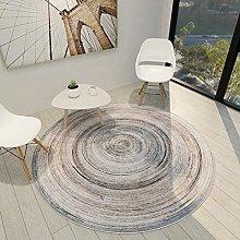 Round Rug Floor Carpet Mat Fluffy Rug Round 100cm