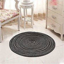 Round Shape Carpets for Living Room End Table