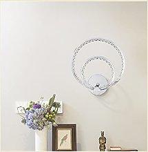 Round Shape Crystal Wall Lighting Decor Fixtures