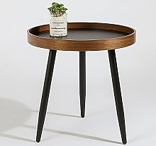 Round Side Table,Small Coffee Table Sofa Side