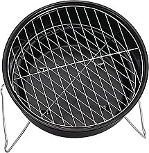 Round Stainless Steel Charcoal BBQ Grills Meats