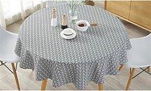 Round Table Cloth: Yellow/120cm