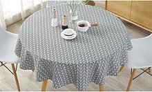 Round Table Cloth: Yellow/90cm