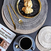 Round Table mat Anti Slip Drink Coasters Insulated