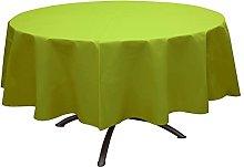 Round Tablecloth Kiwi 240 cm