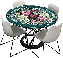 Round Tablecloth, Morbuy 3D Bohemia Mandala