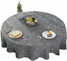 Round Tablecloths for Circular Table Cover,