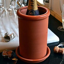 Round Terracotta Wine Cooler (Without Saucer)