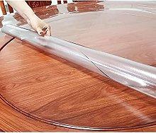 Round Transparent Tablecloth, 2mmPVC60° Edging