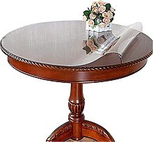 Round Transparent Tablecloth, Round Table