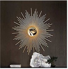 Round Wall Mirrors for Living Room Gold Sunburst