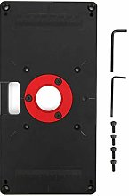 Router Table Insert Plate,235x118x10mm Aluminum