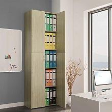 Rowlett 2 Door Storage Cabinet by Brown - Ebern