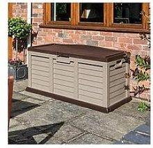 Rowlinson Mocha Cushion Storage Box/Bench