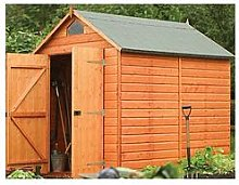 Rowlinson Security Shed 8X6 Ft