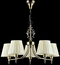 Roxie 5-Light Shaded Chandelier ClassicLiving