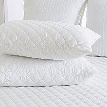 Roy Textile Quilted Pillow Protectors 4 Pack