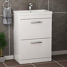 Royal Bathrooms.co.uk Turin Gloss White Floor