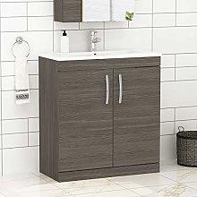 Royal Bathrooms.co.uk Turin Grey Elm Floor