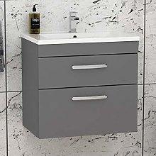 Royal Bathrooms.co.uk Turin Indigo Grey Gloss Wall