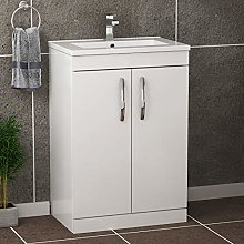Royal Bathrooms Turin Gloss White Floor Standing 2