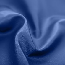 Royal Blue Faux Leather Soft Feel Material by the