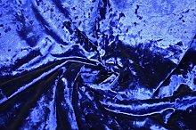 Royal Blue - Ice Crushed Velvet Glitz Premium