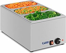 Royal Catering Bain Marie Electric Food Warmer