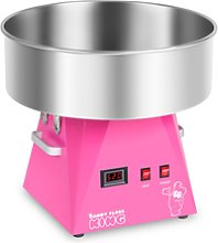 Royal Catering Candy Floss Machine - 52 cm - pink
