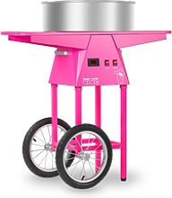 Royal Catering Candy Floss Machine With Trolley -