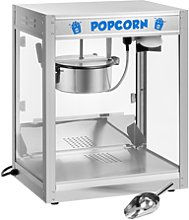 Royal Catering Popcorn Maker - Stainless Steel