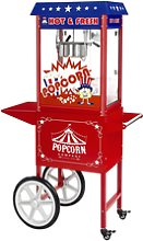 Royal Catering Popcorn maker - Trolley included -