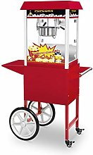 Royal Catering Popcorn Maker with Cart Retro