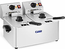 Royal Catering RCEF 08D-EGO Electric Deep Fryer
