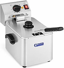 Royal Catering RCEF 08E-EGO Electric Deep Fryer